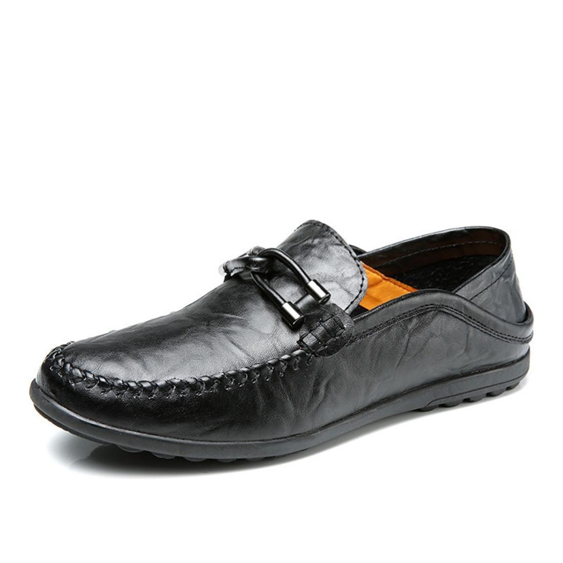 Herren Mode Freizeit Lederschuhe Flache Schuhe Lässige Schuhe Atmungsaktiv Rutschfest Flache Schuhe Zuhause Schlafzimmer EUR GRÖSSE 38-44