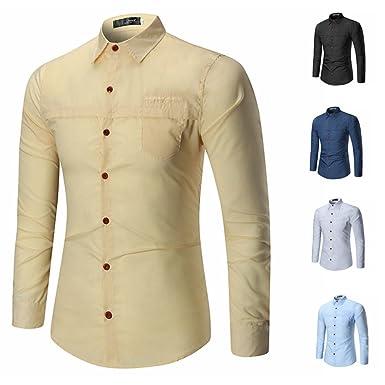 2017 neu sunshey herren langarmes hemd c21 mit knöpfen slim ski bekleidung bekleidung herren c 21 #10