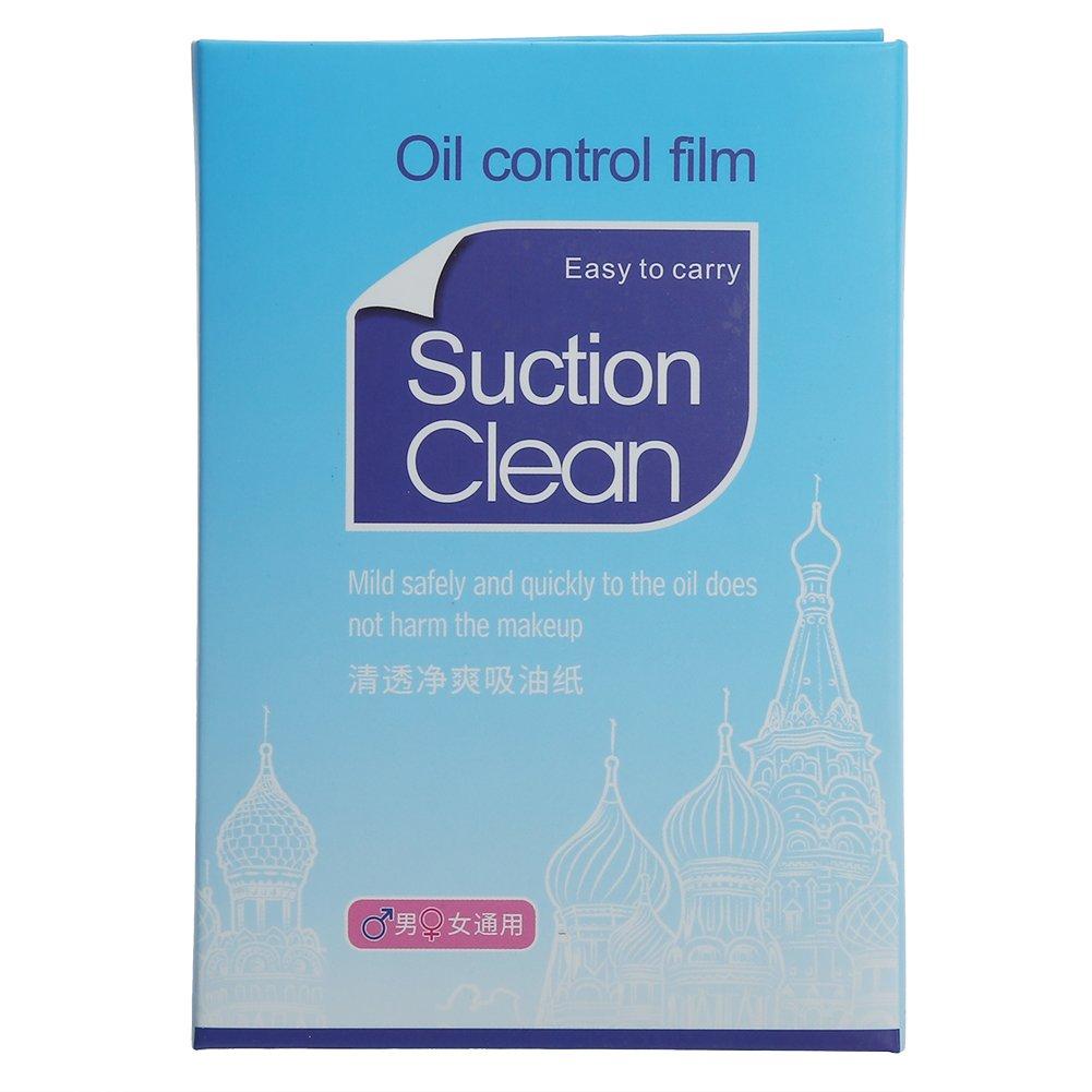 ZJchao - 500 salviettine assorbi sebo per la pulizia del viso (5 confezioni da 100)