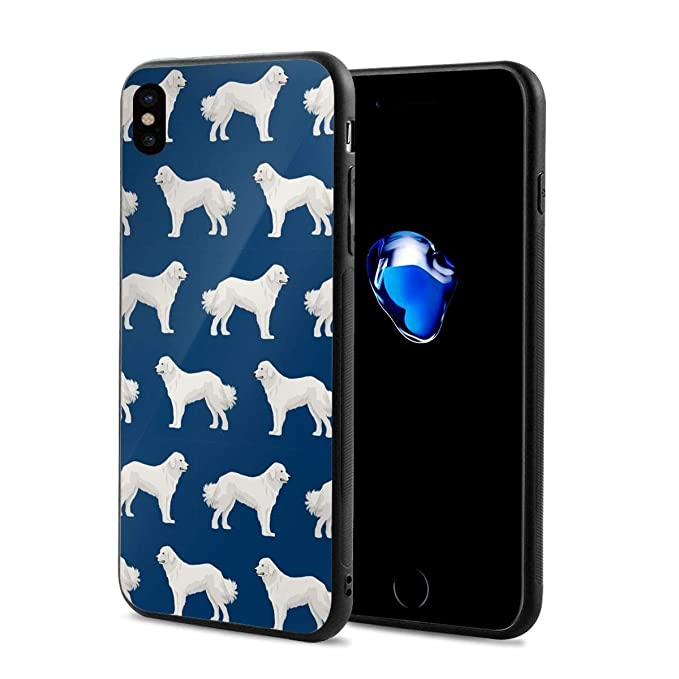 384e2c5061 Amazon.com: iPhone X Case Great Pyrenees Cute Dogs Lightweight Anti ...
