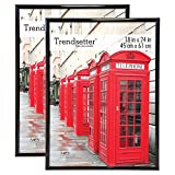 "Best The  Posters - MCS Trendsetter Poster Frame (2 Pack), 18""x24"", Black Review"