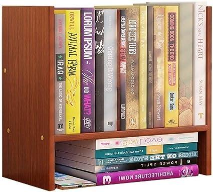 BJYG Estantería de estantería para Libros de sobremesa para ...