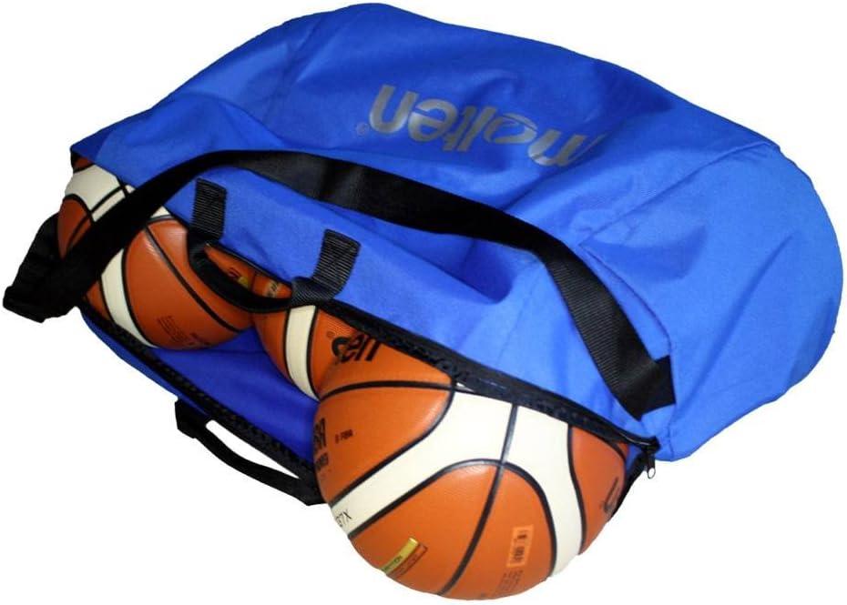 MOLTEN Profesional Bolsa de 6 Balones de Baloncesto, Unisex, Azul ...