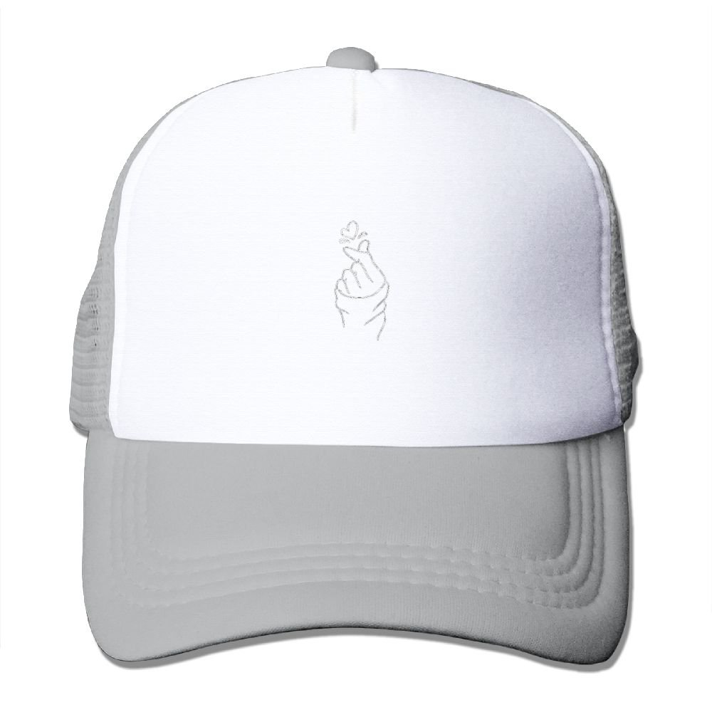 Heart Gestures Comfortable Baseball Caps For Adults Casual Great For Travle Workout Polo Style Hats