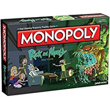 Monopoly Rick & Morty Board Game