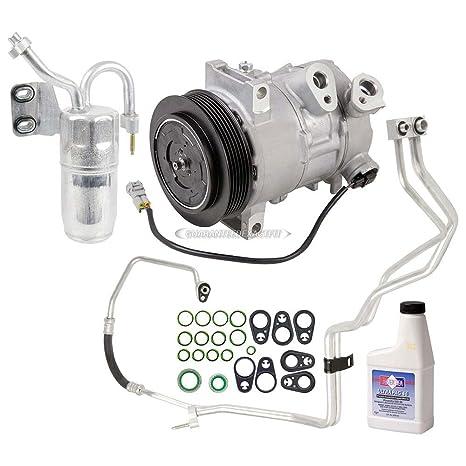 Marca nueva AC Compresor y embrague con a/c Kit de reparación completa para Dodge