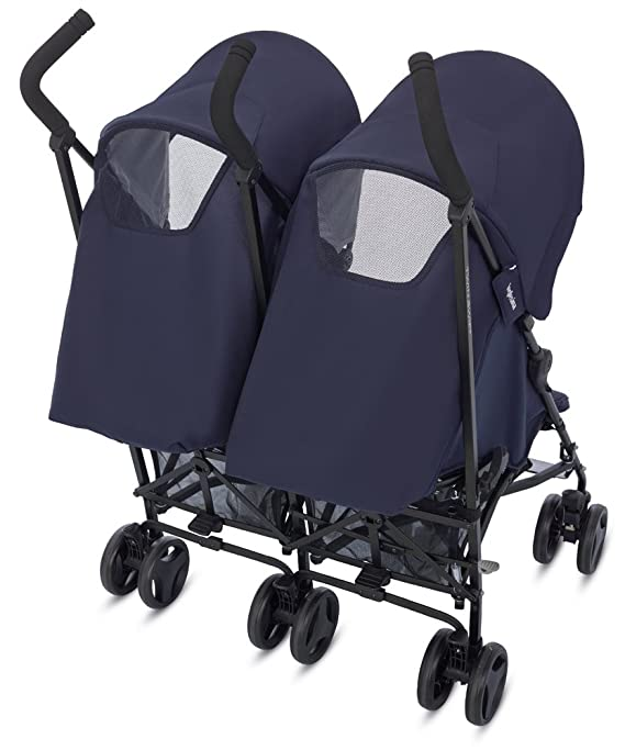 Inglesina Twin Swift - Sillita de paseo doble, unisex, color marina: Amazon.es: Bebé
