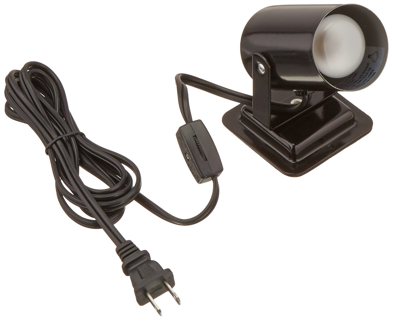 Lite Source LS-117BLK 1-Light Track Head with Black Metal Shades, Black Finish by Lite Source