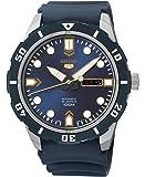 Seiko Herren-Armbanduhr 5 Analog Automatik Kautschuk SRP677K2