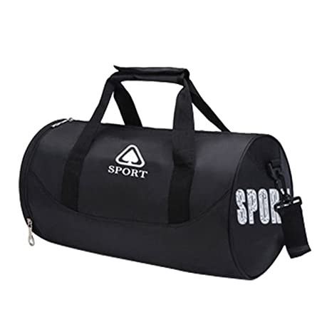 11c547f34c85 Faleto Canvas Sport Duffel Bag Gym Tote Bag with Shoe Compartment Small  Fitness Yoga Equipment Bag
