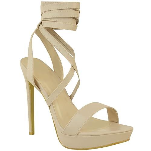 Chaussures à talon aiguille à bout ouvert Fashion Thirsty dorées Sexy femme Faible Frais D'expédition Date De Sortie Vente Vente Pas Cher l6Vf2g5