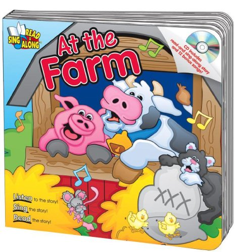 Download At the Farm Read & Sing Along Board Book With CD (Read & Sing Along Board Books) PDF
