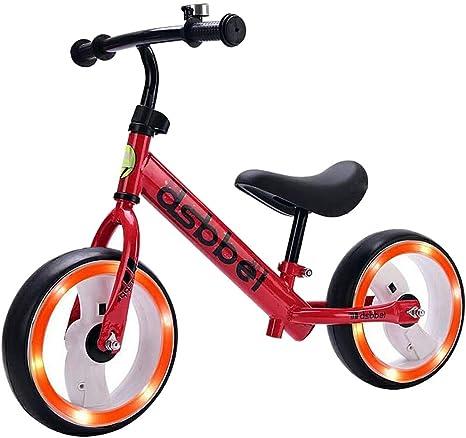 YSAN Equilibrio para Niños Flash Tire Sin Bicicleta De Cadena,Red ...