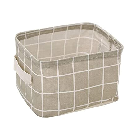 Cestas de almacenamiento, Plegable almacenamiento bin closet caja de juguetes contenedor organizador cesta de tela