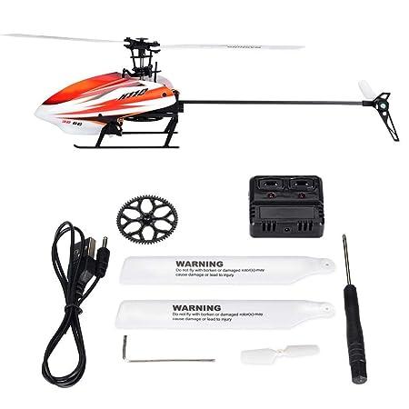 Helicóptero de Control Remoto RC, sin escobillas 1106 11000KV ...