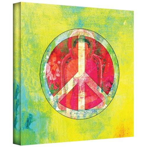 Art Wall Elena Ray Peace Sign Gallery-Wrapped Canvas Art