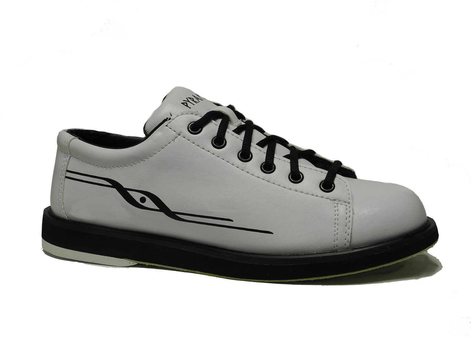 Pyramid Mens Ram White Bowling Shoes (10.5)