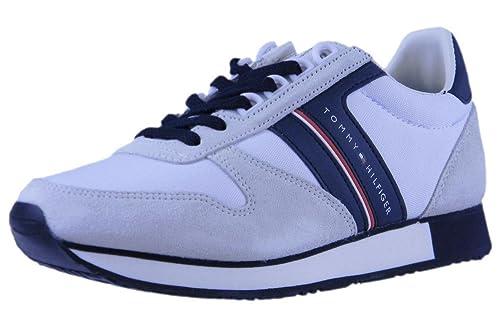 Amazon Denim Runner Hilfiger Neri Retro shoes Jeans Sneaker EH9ID2