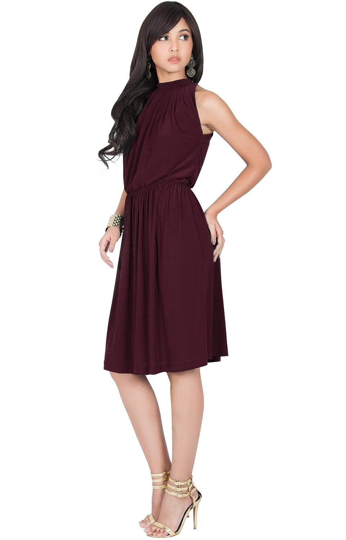 Flowy Knee Length Dress