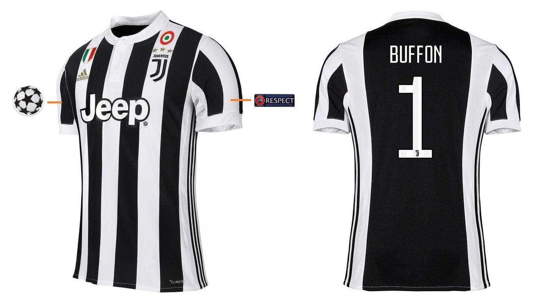 Trikot Kinder Juventus 2017-2018 Home UCL - Buffon 1