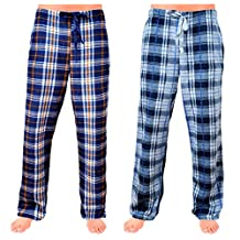 SOVA Men's 2-Pack Ultra Comfy Fit Micro Fleece Pajama Pants (2 pcs Set)
