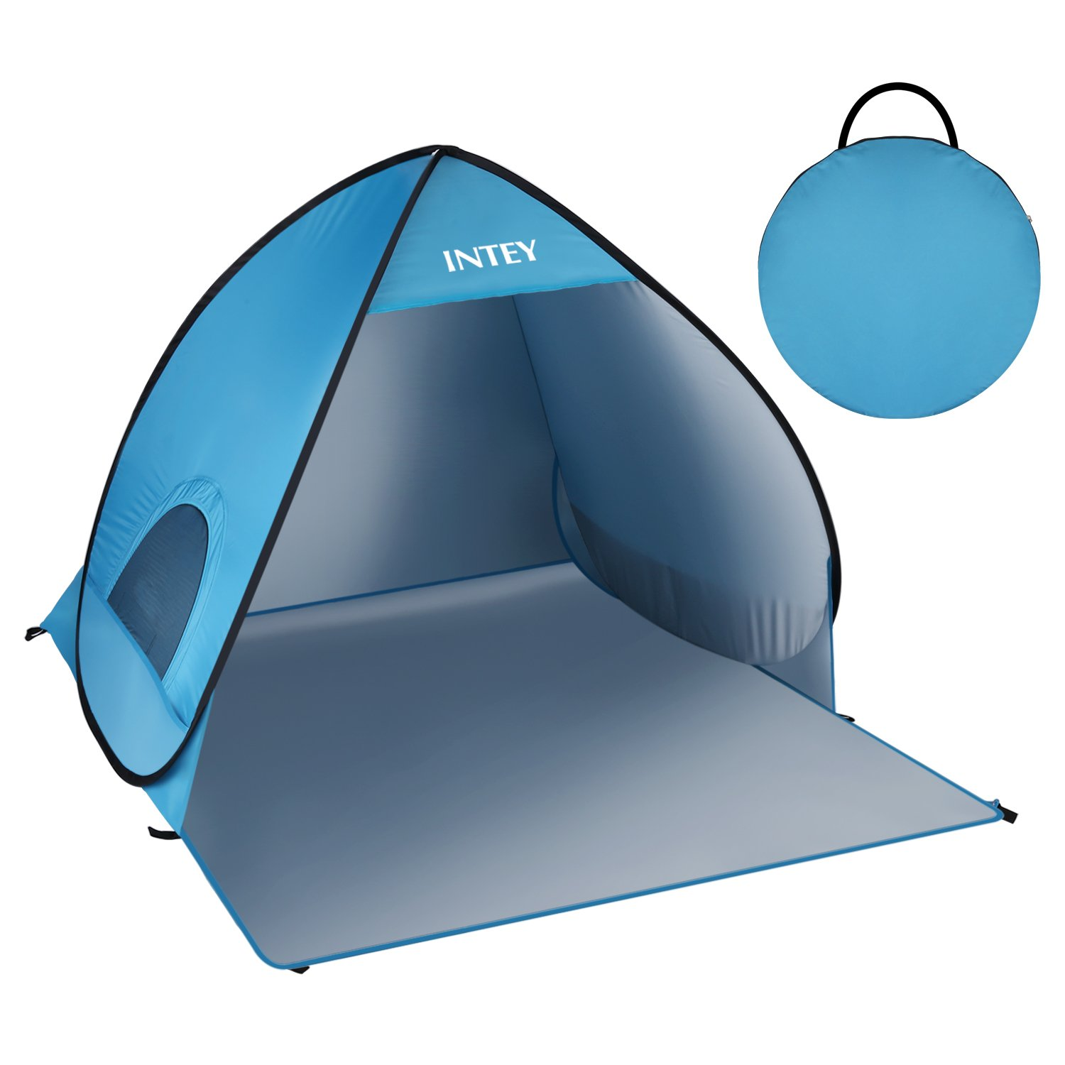 INTEY Beach Tent 3 Season Waterproof Tent 2-3 Person Camping Tent Easy Set Up with Portable Pack