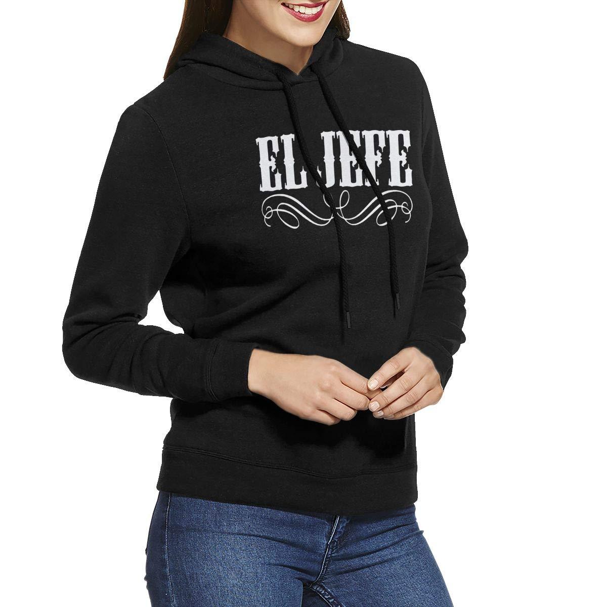 Woman El Jefe Logo Hoodie Sweatshirt