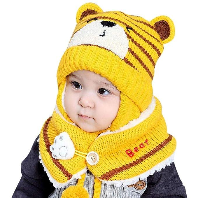 Mbby Cappello + Sciarpa A Set Neonato Inverno 25ec112943e7