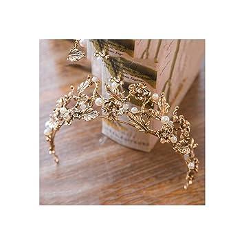Amazon.com: Diadema estilo vintage con corona barroca y ...