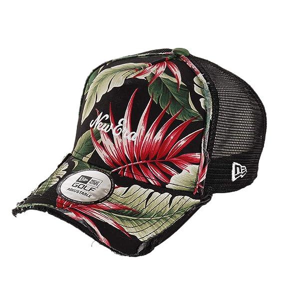 NEW ERA 9FORTY A-Frame Cap Hat Snapback Adjustable Botanical Aloha Pattern
