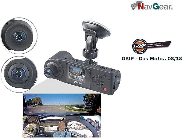 Navgear 360 Grad Kamera Auto Full Hd Dashcam Mit 2 Elektronik