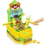 VATOS Whac-A-Mole Game, Mini Electronic Arcade Game with 2 Hammers, Pounding Toys Toddler Toys for 3 4 5 6 7 8 Years Old Boys