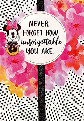 Amazon Minnie Mouse Black Dots And Pink Flowers And Ribbon