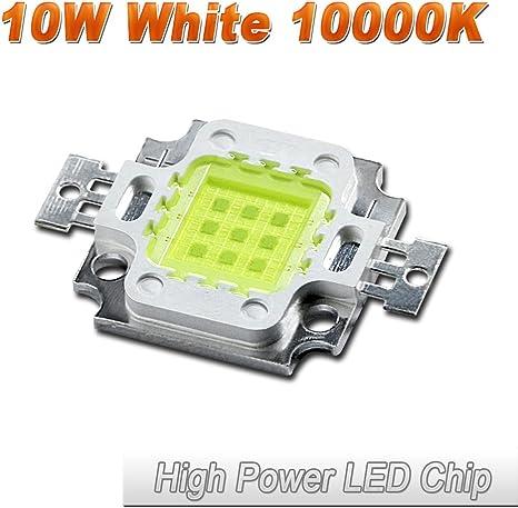 2//10x 10W Cool//Warm White High Power 30Mil SMD Led Chip Flood Light Bead HI