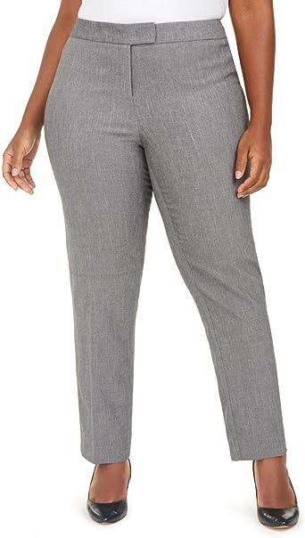 Amazon Com Anne Klein Plus Bowie Pantalones De Vestir Para Mujer 18 Clothing