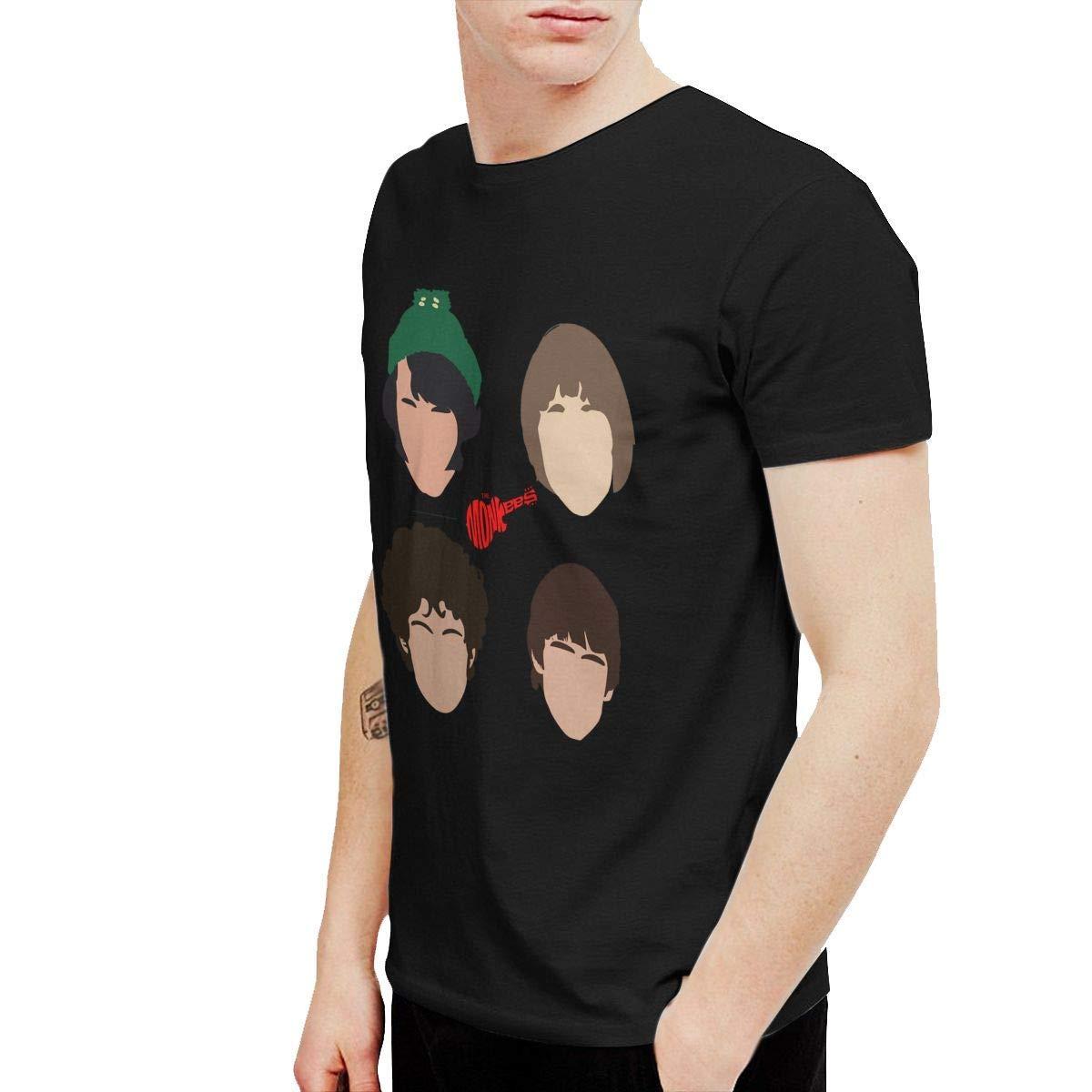 K-deio The Monkees Mens Tshirt Black