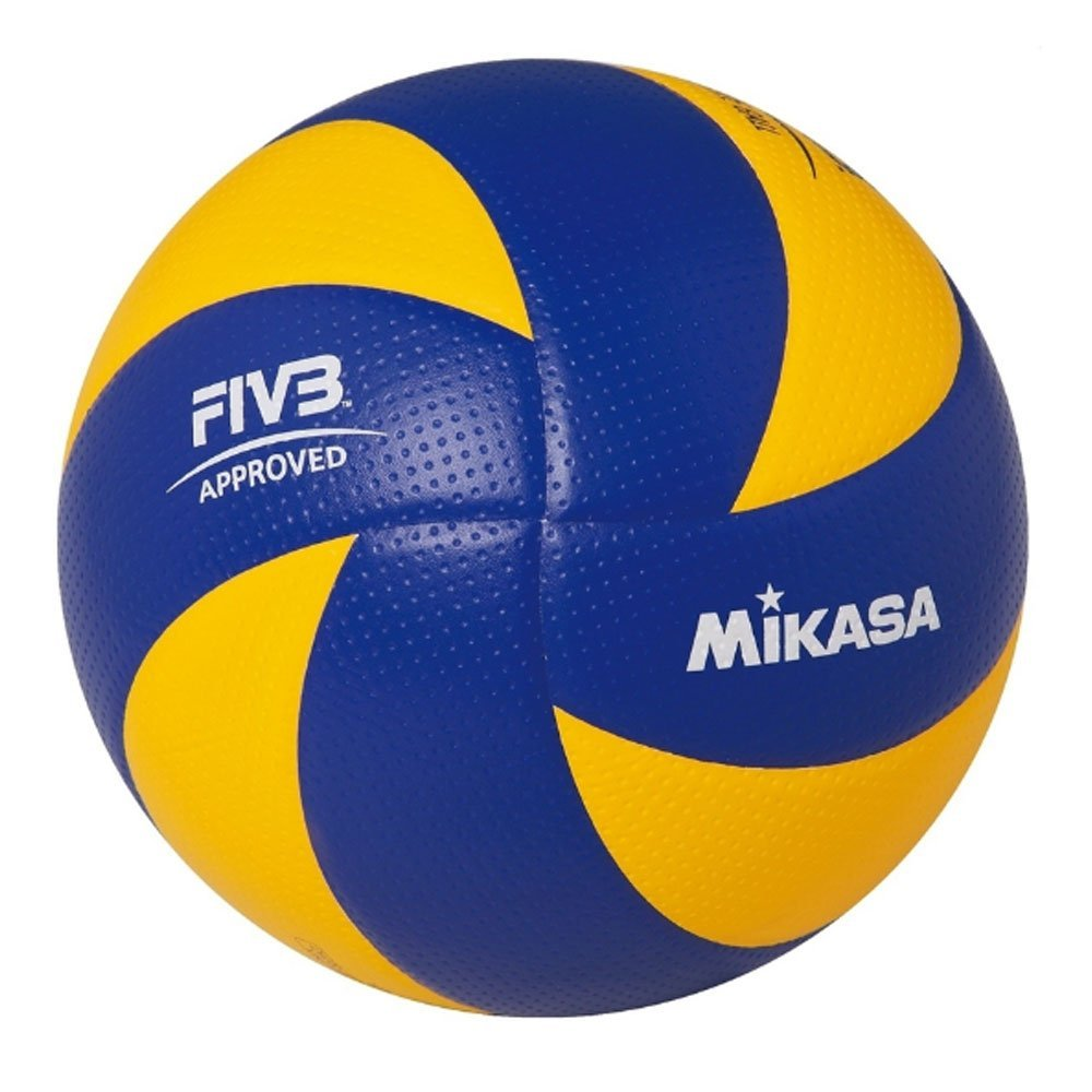 MIKASA FIBA APPROVED volleyball TOP VALUE Series MVA200 (blue and yellow). by Mikasa Sports