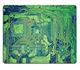 MSD Mousepad Image ID 27264430 Vintage looking Detail of an electronic printed circuit board
