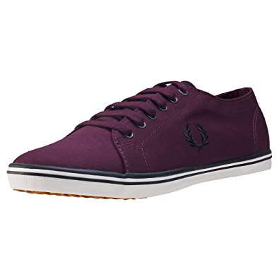 Baskets Fred Perry Kingston Twill Mahogany LFw20LjX