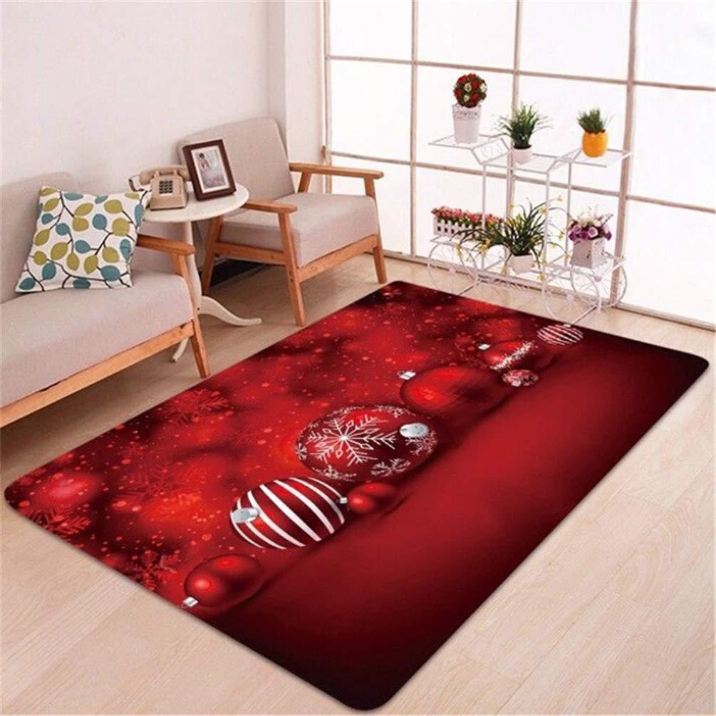 un tappeto natalizio per il salone