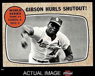 1968 Topps 154 1967 World Series