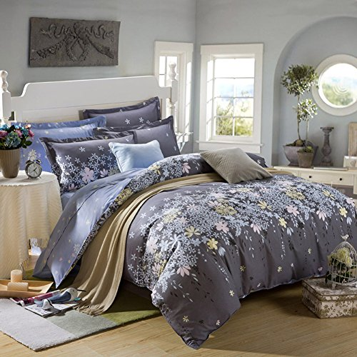 TOP SHOP Home FTSUCQ Rosemary Linen Bed Sheets Quilt Covers Bed Mattress Bedding Four-PCS Sets,size-3 (Top Kidsline Sheet)