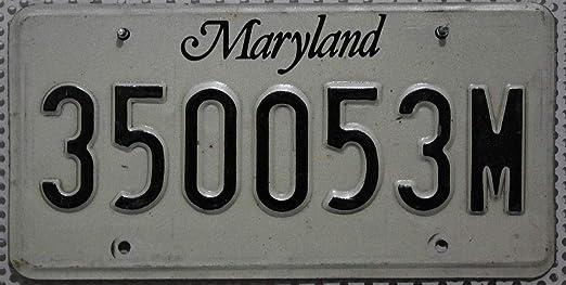 US matrículas de MARYLAND matrícula # Estados Unidos luz # Auto - escudo: Amazon.es: Juguetes y juegos