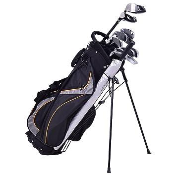 Blitzzauber24 Bolsa de Carro para Palos de Golf, Color Negro, Talla 9-Inch,28 x 21 x 89, 5cm: Amazon.es: Deportes y aire libre