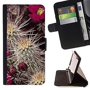 Momo Phone Case / Flip Funda de Cuero Case Cover - Planta Naturaleza Forrest Flor 91 - Sony Xperia Z3 Compact