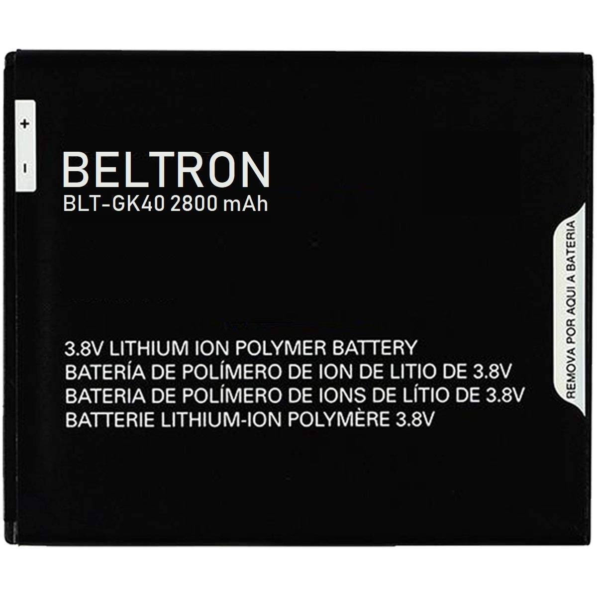 New 2800 mAh BELTRON Replacement Battery for Motorola G4 Play XT1607 - GK40 by BELTRON