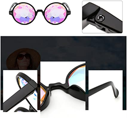 Diffraction Goggles Chartsea Kaleidoscope Glasses Tinted Lenses Limited Edition
