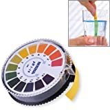 Itian Universal 5 Meters PH Indicator Litmus Test Paper Strip Roll, PH 1-14 Universal Full Range Litmus Strips Tester For Water, Saliva
