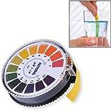 Gearmax® 5 Metros Rollo Indicador de PH 1-14 Tornasol Test Papel Tira Strips para Agua Orina y Saliva