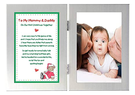 Christmas Gifts For New Parents.Christmas Gift For New Parents To My Mommy Daddy On Our